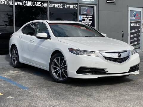 2016 Acura TLX for sale at CARUCARS LLC in Miami FL