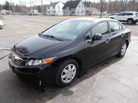 2012 Honda Civic for sale at Dansville Radiator in Dansville NY