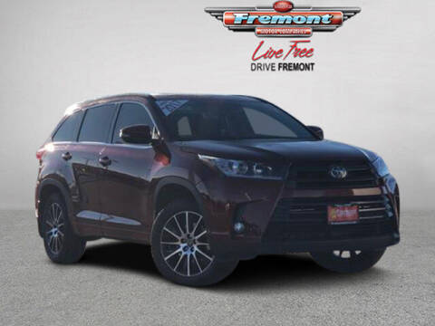 2017 Toyota Highlander for sale at Rocky Mountain Commercial Trucks in Casper WY