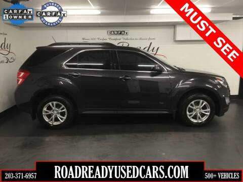 2016 Chevrolet Equinox for sale at Road Ready Used Cars in Ansonia CT