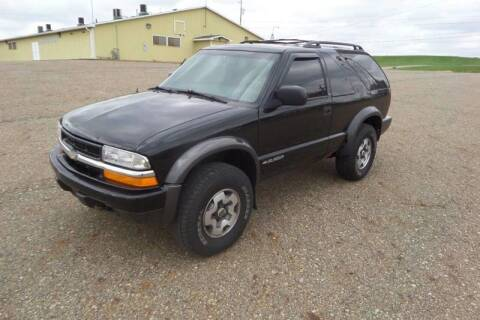 2001 Chevrolet Blazer for sale at WESTERN RESERVE AUTO SALES in Beloit OH