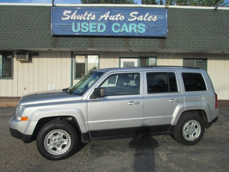 2013 Jeep Patriot for sale at SHULTS AUTO SALES INC. in Crystal Lake IL