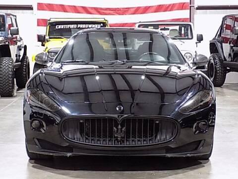 2010 Maserati GranTurismo for sale at Texas Motor Sport in Houston TX