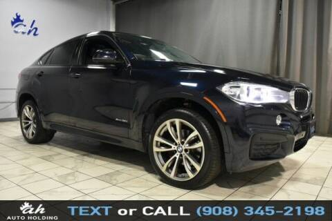 2016 BMW X6 for sale at AUTO HOLDING in Hillside NJ