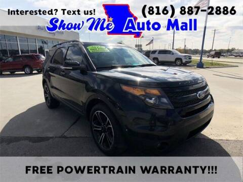 2015 Ford Explorer for sale at Show Me Auto Mall in Harrisonville MO