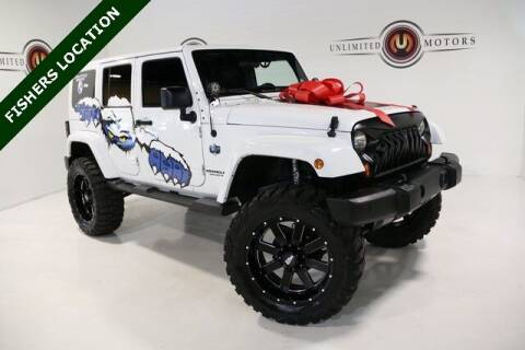 2012 Jeep Wrangler Unlimited for sale at Unlimited Motors in Fishers IN