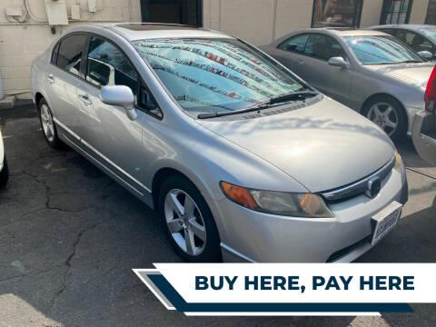 2007 Honda Civic for sale at E.T. Auto Sales Inc. in El Monte CA