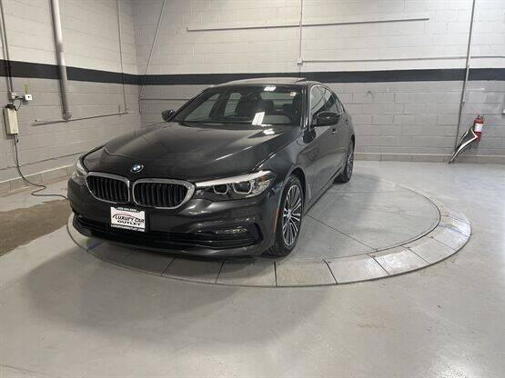 2017 BMW 5 Series for sale at Luxury Car Outlet in West Chicago IL