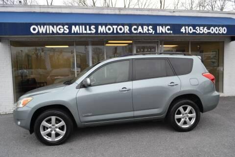 2008 Toyota RAV4 for sale at Owings Mills Motor Cars in Owings Mills MD