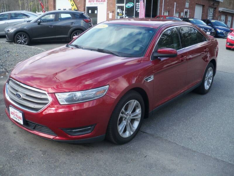 2014 Ford Taurus for sale at Charlies Auto Village in Pelham NH