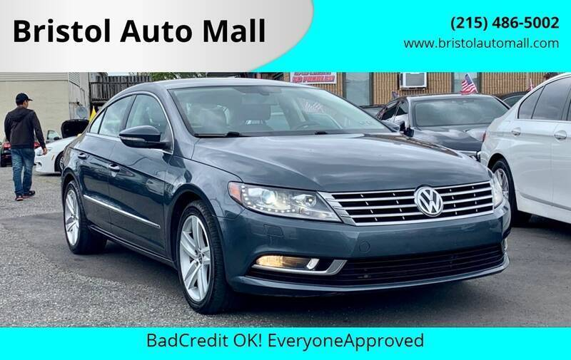 2013 Volkswagen CC for sale at Bristol Auto Mall in Levittown PA