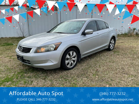 2008 Honda Accord for sale at Affordable Auto Spot in Houston TX