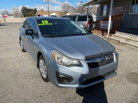 2013 Subaru Impreza for sale at Choice Motors of Salt Lake City in West Valley  City UT