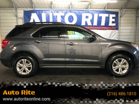 2011 Chevrolet Equinox for sale at Auto Rite in Bedford Heights OH