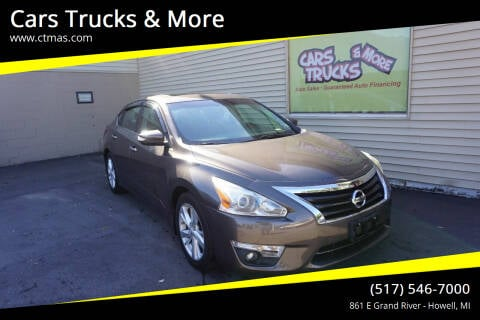 2013 Nissan Altima for sale at Cars Trucks & More in Howell MI