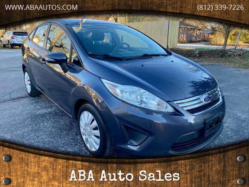 2013 Ford Fiesta for sale at ABA Auto Sales in Bloomington IN