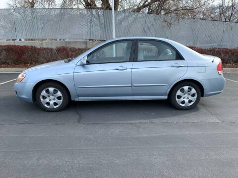 2007 Kia Spectra for sale at BITTON'S AUTO SALES in Ogden UT