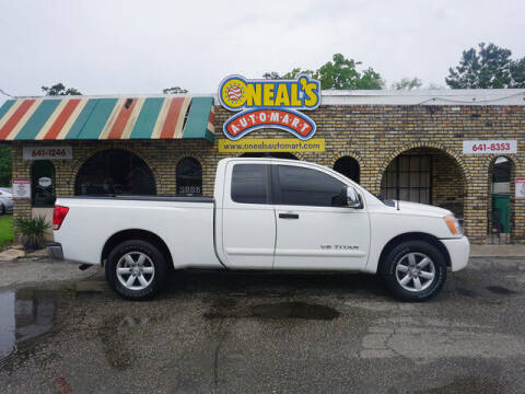 2011 Nissan Titan for sale at Oneal's Automart LLC in Slidell LA