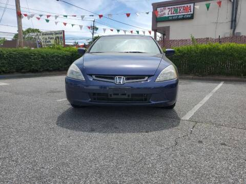 2004 Honda Accord for sale at RMB Auto Sales Corp in Copiague NY