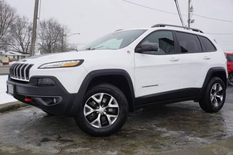 2018 Jeep Cherokee for sale at Platinum Motors LLC in Heath OH