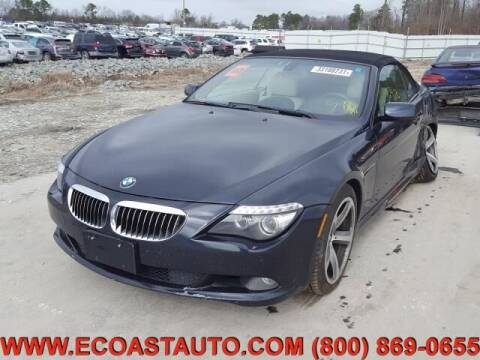 2008 BMW 6 Series for sale at East Coast Auto Source Inc. in Bedford VA