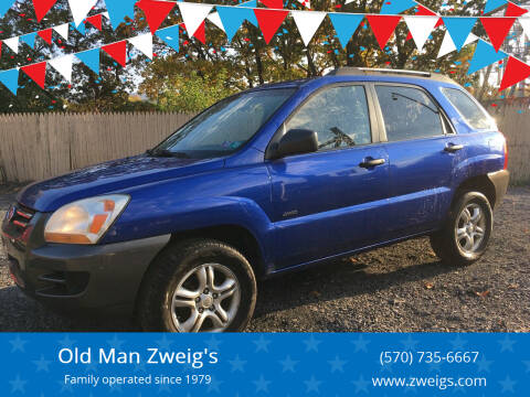 2007 Kia Sportage for sale at Old Man Zweig's in Plymouth Township PA