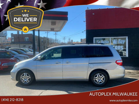 2006 Honda Odyssey for sale at Autoplex Milwaukee in Milwaukee WI
