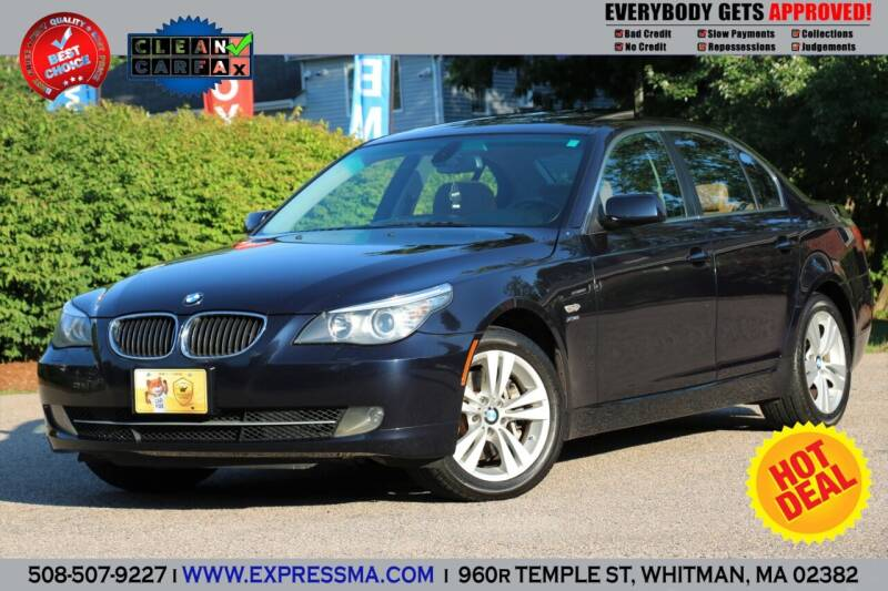 2009 BMW 5 Series for sale at Auto Sales Express in Whitman MA