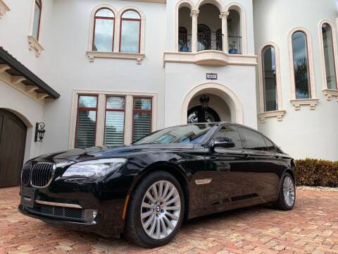 2012 BMW 7 Series for sale at Mirabella Motors in Tampa FL