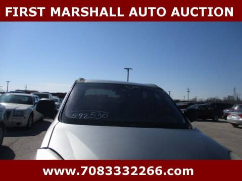 2004 Buick Rendezvous for sale at First Marshall Auto Auction in Harvey IL