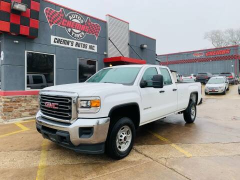 2015 GMC Sierra 2500HD for sale at Chema's Autos & Tires in Tyler TX