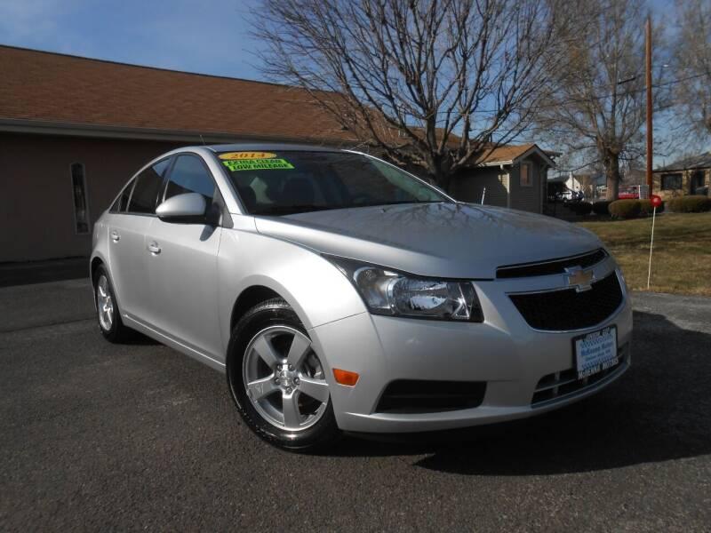 2014 Chevrolet Cruze for sale at McKenna Motors in Union Gap WA