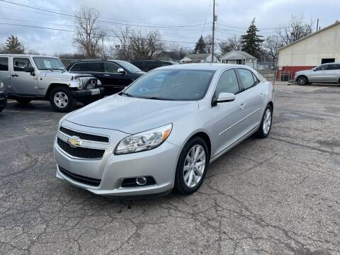 2013 Chevrolet Malibu for sale at Dean's Auto Sales in Flint MI