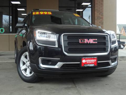 2014 GMC Acadia for sale at Arandas Auto Sales in Milwaukee WI
