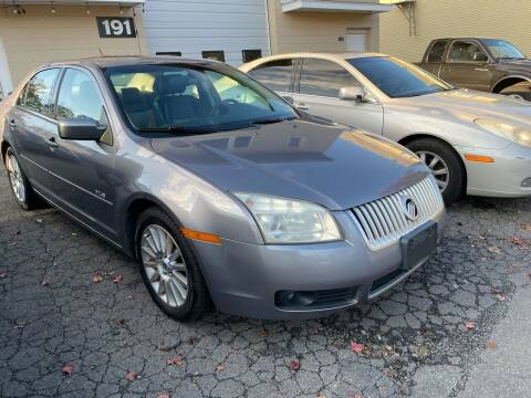 2007 Mercury Milan for sale at Dennis Public Garage in Newark NJ