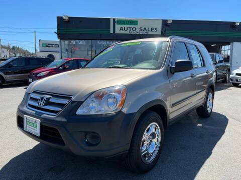 2005 Honda CR-V for sale at Wakefield Auto Sales of Main Street Inc. in Wakefield MA