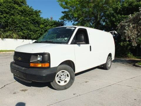 2014 Chevrolet Express Cargo for sale at Automotive Credit Union Services in West Palm Beach FL