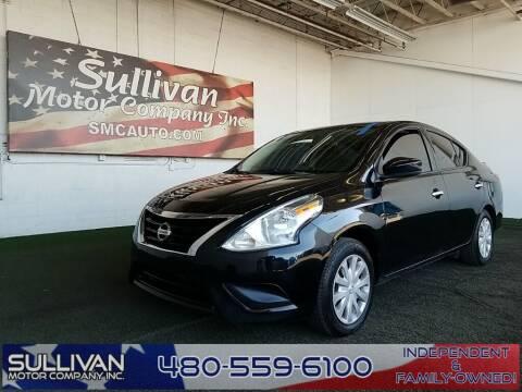 2017 Nissan Versa for sale at SULLIVAN MOTOR COMPANY INC. in Mesa AZ