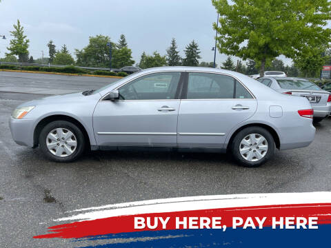 2004 Honda Accord for sale at Valley Sports Cars in Des Moines WA