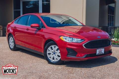 2020 Ford Fusion for sale at Mcandrew Motors in Arlington TX