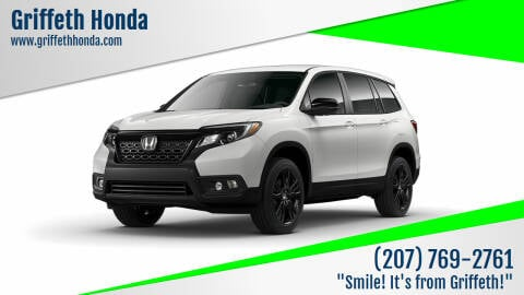 2021 Honda Passport for sale at Griffeth Honda in Presque Isle ME