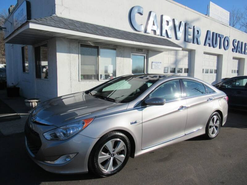 2012 Hyundai Sonata Hybrid for sale at Carver Auto Sales in Saint Paul MN