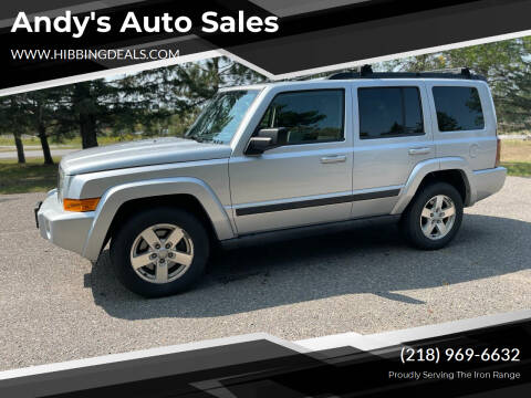 2007 Jeep Commander for sale at Andy's Auto Sales in Hibbing MN