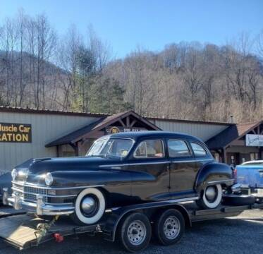 1947 Chrysler Windsor for sale at Classic Car Deals in Cadillac MI