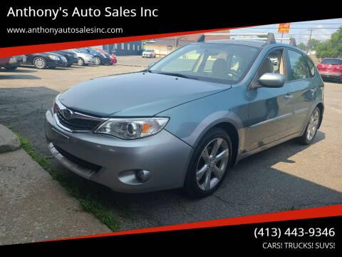 2009 Subaru Impreza for sale at Anthony's Auto Sales Inc in Pittsfield MA