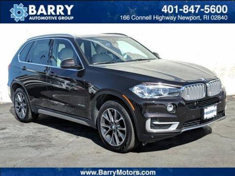 2018 BMW X5 for sale at BARRYS Auto Group Inc in Newport RI