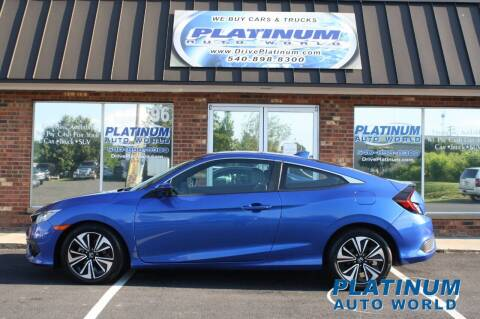 2016 Honda Civic for sale at Platinum Auto World in Fredericksburg VA