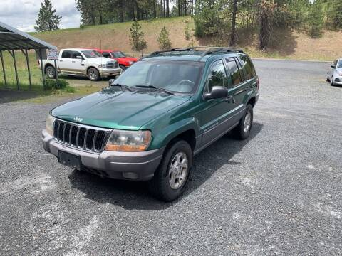 1999 Jeep Grand Cherokee for sale at CARLSON'S USED CARS in Troy ID