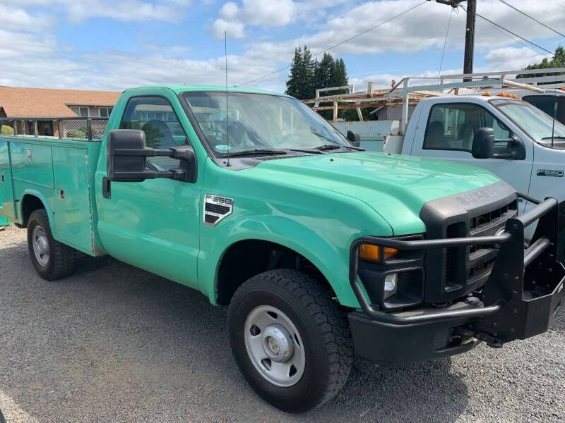 2008 Ford F-350 Super Duty for sale at DirtWorx Equipment in Woodland WA