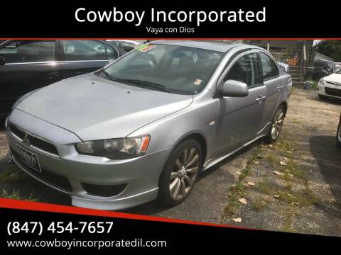 2008 Mitsubishi Lancer for sale at Cowboy Incorporated in Waukegan IL